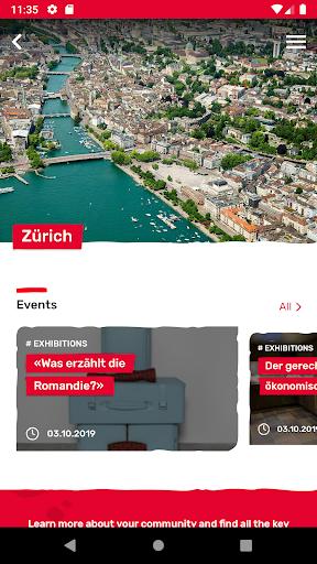 Localcities. Swiss municipalities 3.3.0 screenshots 2