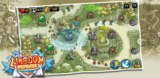 Kingdom Defense 2  Empire Warriors   Tower Defense Mod Apk 1.4.1 (Unlimited money)
