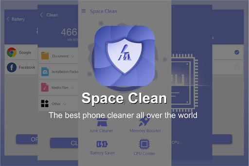Space Clean screenshot 1
