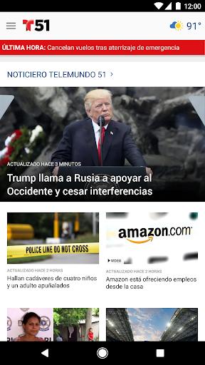 Telemundo 51 Screenshot