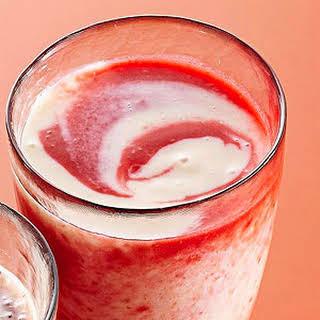 Raspberry-Citrus Swirly Smoothies.