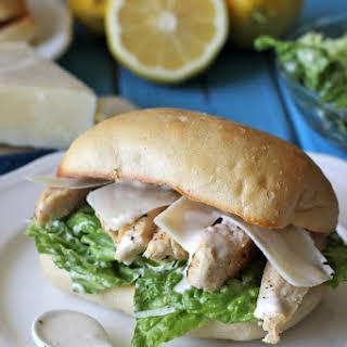 Chicken Caesar Ciabatta Sandwiches.