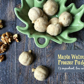 Maple Pecan Fudge (low carb, Paleo)