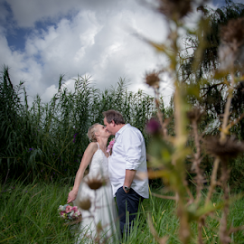 Kiss by Lood Goosen (LWG Photo) - Wedding Bride & Groom ( kiss, wedding photography, weddings, wedding, bride and groom, wedding photographer, bride, groom )