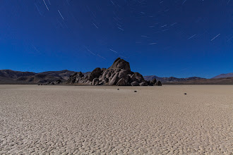 Photo: The Grandstand - Racetrack Playa, Death Valley, CA