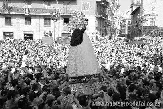 La Fiesta de la Virgen de los Desamparados. Hablemos de Historia