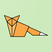 papigami : paper folding origami game MOD APK 1.2.3 (Unlimited Hints)