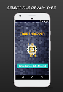 True Shredder -Permanent Mobile Data Deletion Tool Screenshot