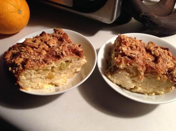 Gwenn's Noodle Custard Pudding