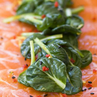Salmon Carpaccio Salad Recipe