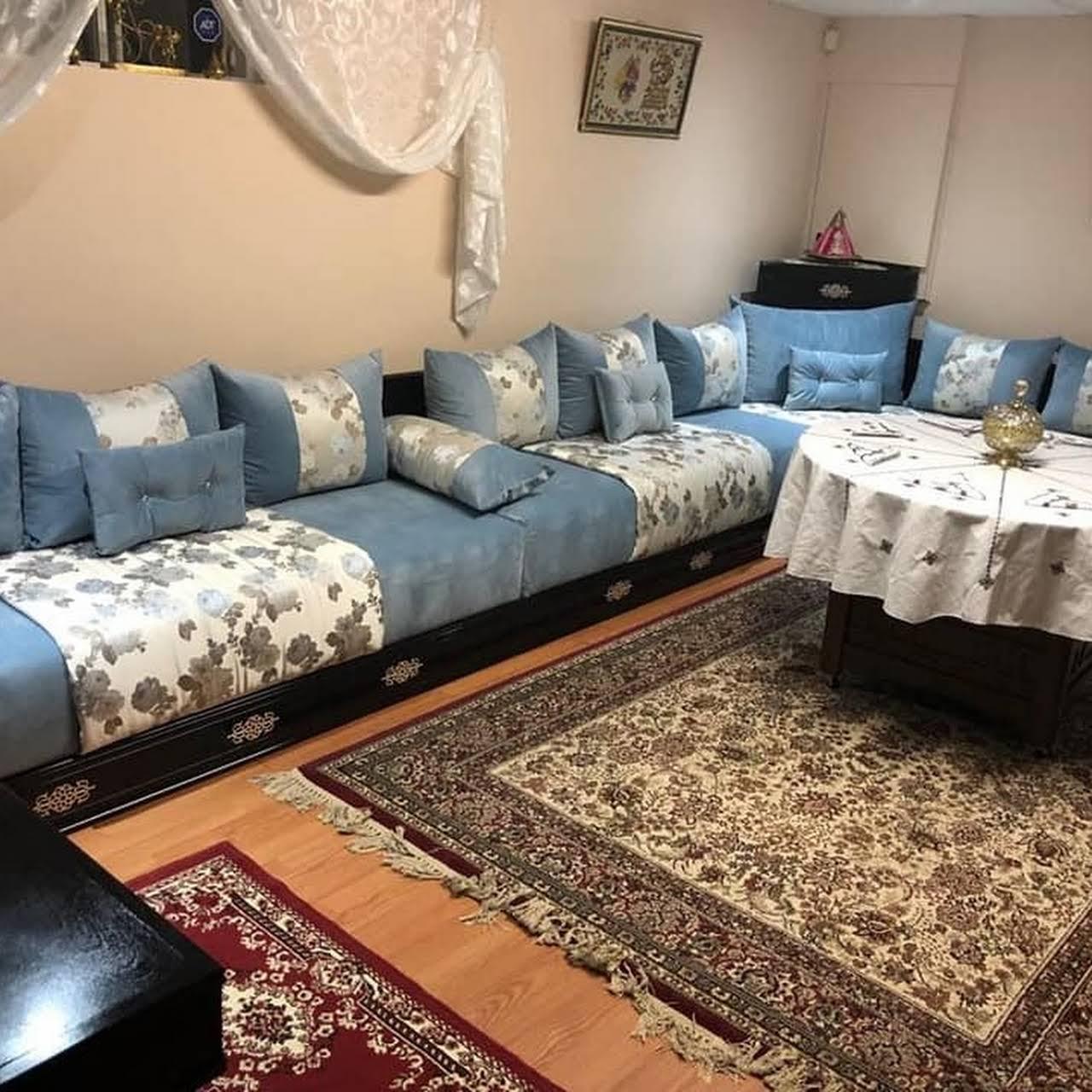 Salon Marocain Lala Molaty inc - Meubles salon marocain