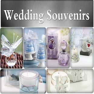 Wedding Souvenirs Ideas - náhled