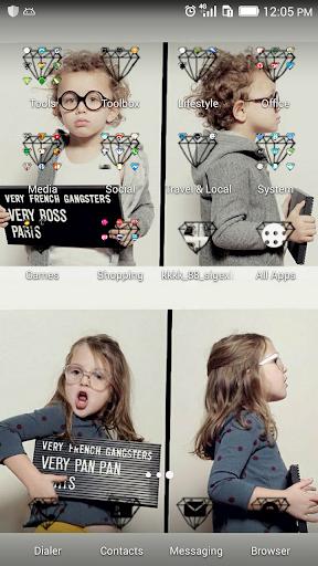 A wimpy kid theme-ABC Launcher