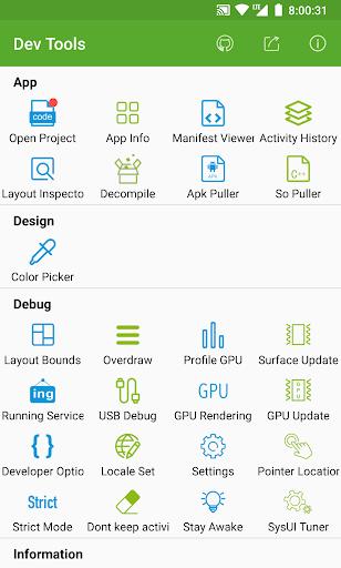 Dev Tools(Android Developer Tools) 5.4.1 screenshots 1
