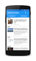 Screenshot of Spanish News (Noticias)