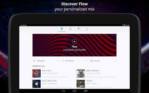 Deezer Music Screenshot 7
