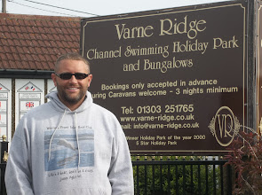 Photo: Varne Ridge, the best place to stay if your swimming the channel!