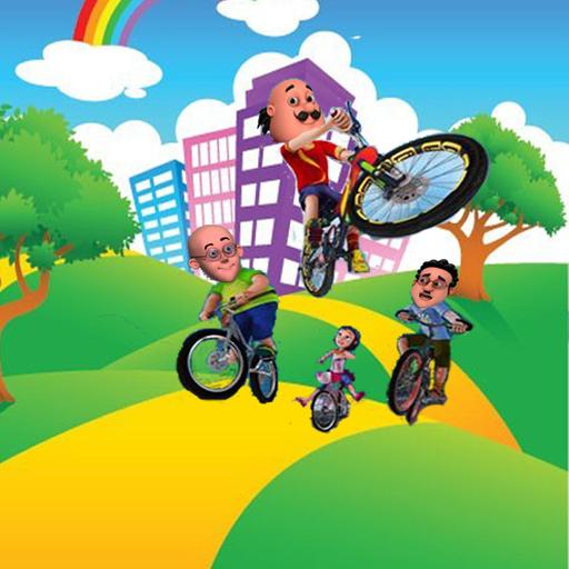 Motu Patlu Bike Cycling