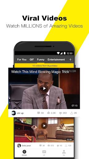 BuzzVideo - Viral Videos, Funny GIFs &TV shows 5.7.2 screenshots 3