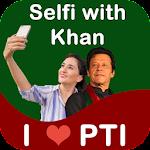 Khan-Beauty Selfie With Imran, Profile DP Maker Icon