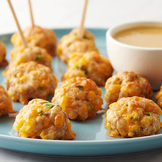 Maple Sausage-Cheese Balls Recipe