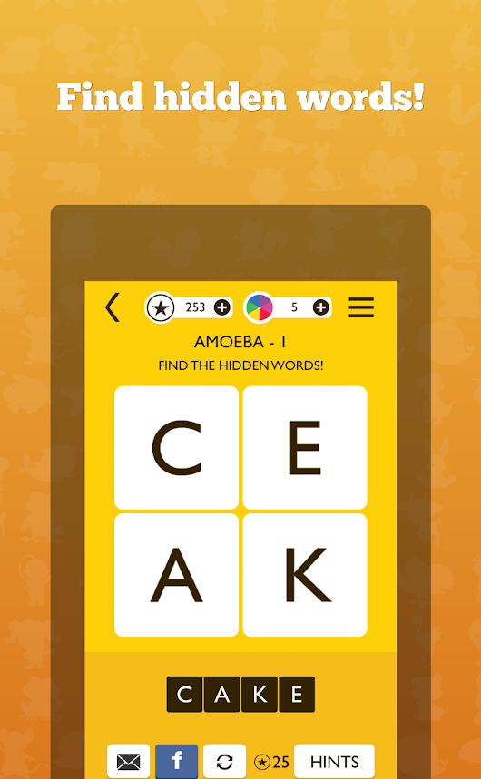 Word Trek brain puzzle game