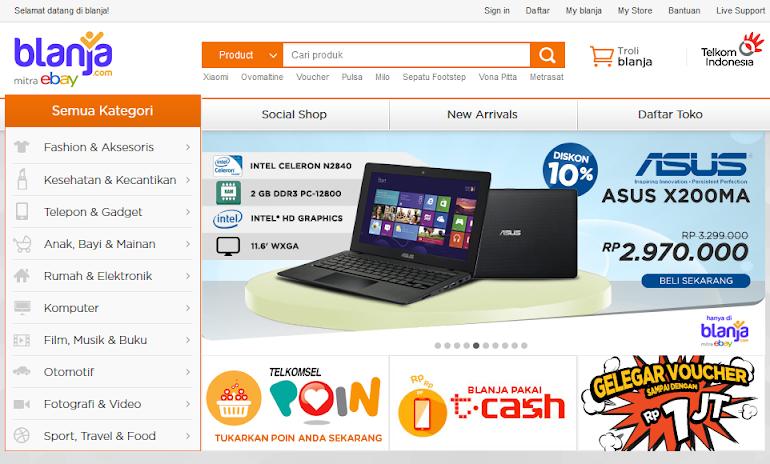Blanja.com: Pengalaman E-commerce Perpaduan Timur dan Barat