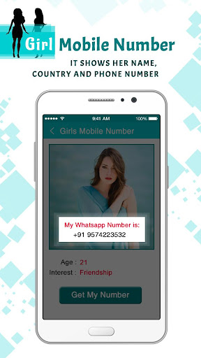 Girls Mobile Number : Girl Friend Search 1.0 screenshots 4