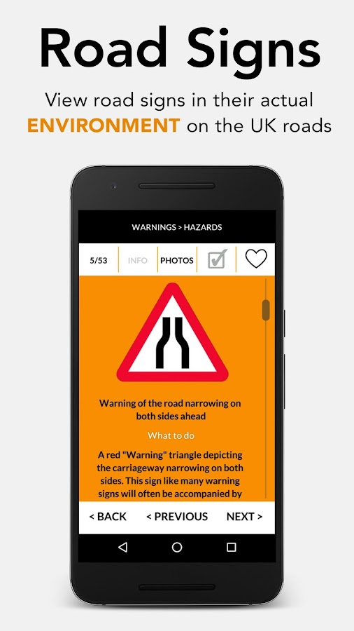 Road Traffic Signs UK - 2017 Edition- screenshot