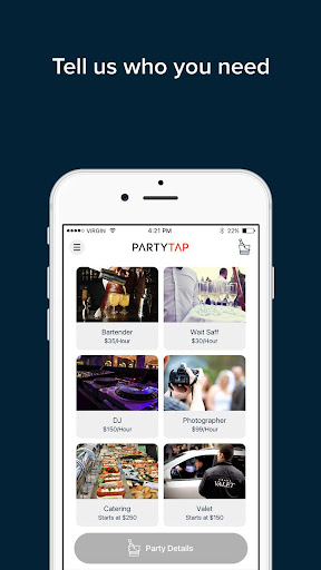 PartyTap screenshot