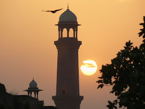 Photo: 14. Lahore, Sunset