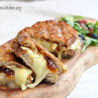 Brie and Fig Grilled Cheese!