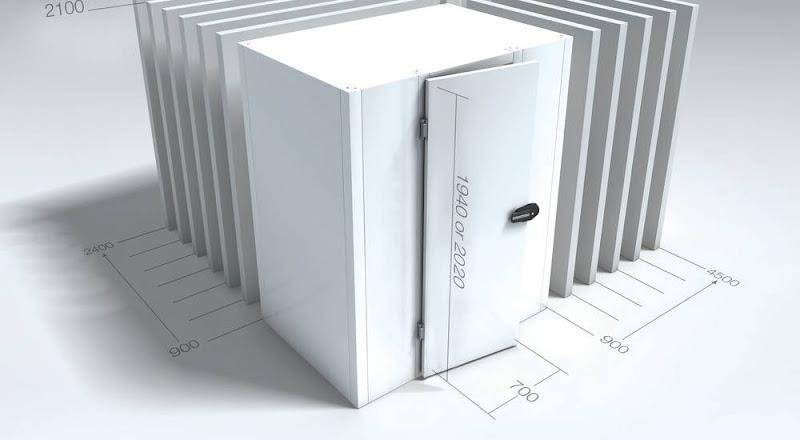 Koelcel BXLXH 120x120x202 cm