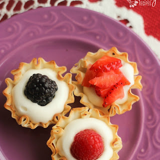 Easy Phyllo Fruit Cups.
