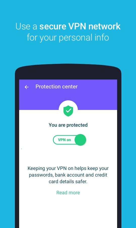 Protect Free VPN+Data Manager- screenshot
