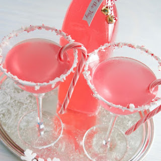 Candy Cane Martinis.