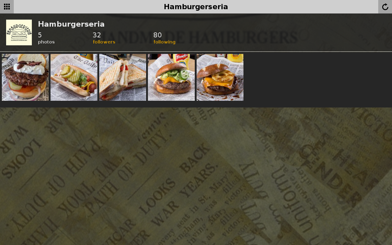 Hamburgerseria- screenshot