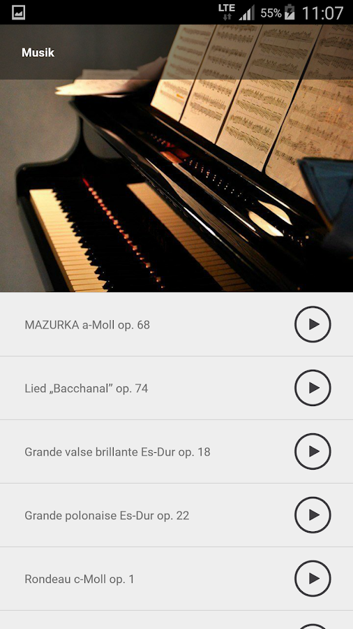 Chopin in Warsaw – Screenshot