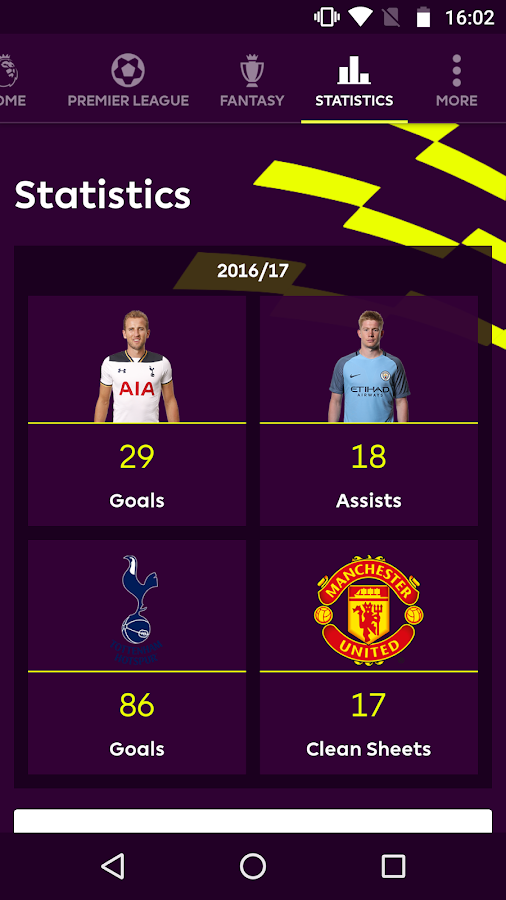 Premier League - Official App: captura de pantalla