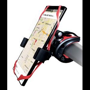 Suport de telefon pentru bicicleta, protectie antialunecare