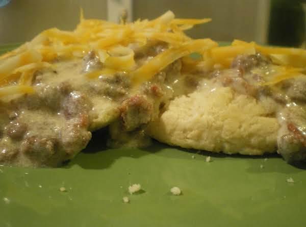 Bacon Cheeseburger Gravy...bc-sos! Recipe