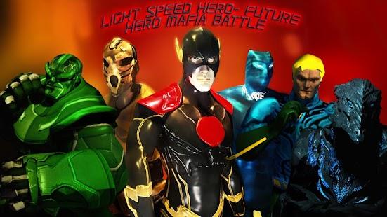 Light speed hero-future hero criminal mafia battle - náhled