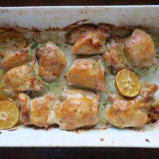Lemon Mustard Chicken Recipes