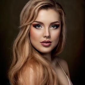 Angeli by Michal Challa Viljoen - People Portraits of Women ( makeup, hair, woman, beauty, vintage, photo, model, portrait, barbie, photography,  )