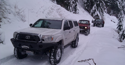 Snow Run - Green Mountain - February 2014