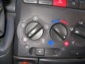 Photo: Una vez vacio, voy a limpiar el motor, es importante poner la calfacción para que se vacíe el radiador de la calefacción y para que entre el agua limpia por dicho radiador.