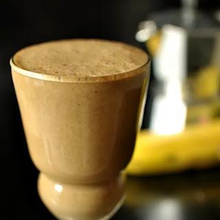 Coffee Banana Smoothie.