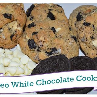 Oreo White Chocolate Cookies