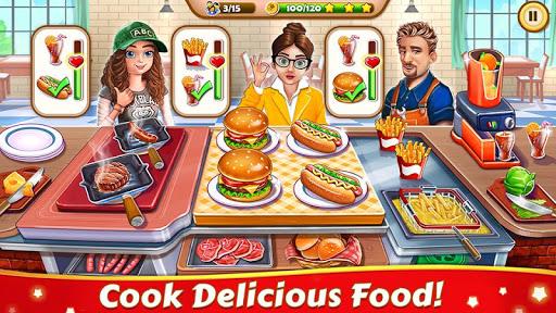 cuisine folle: restaurant jeux de cuisine de chef  captures d'u00e9cran 1