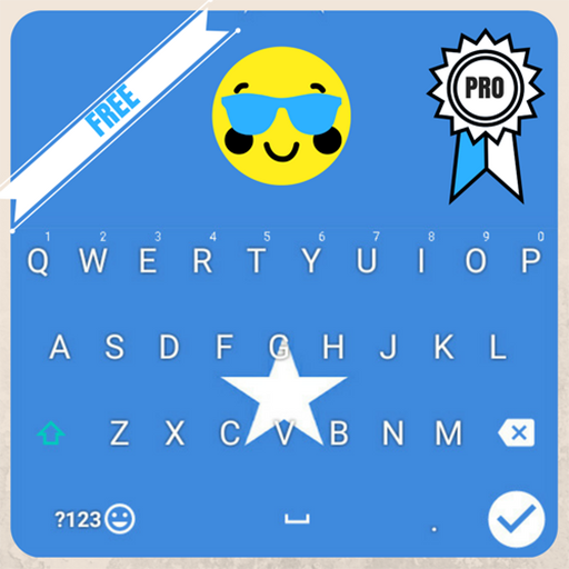 Keyboard Somalia flag Theme & Emoji